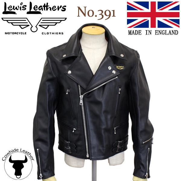 正規取扱店Lewis Leather(ルイスレザー) No.391 LIGHTNING(ライトニング) ブラック