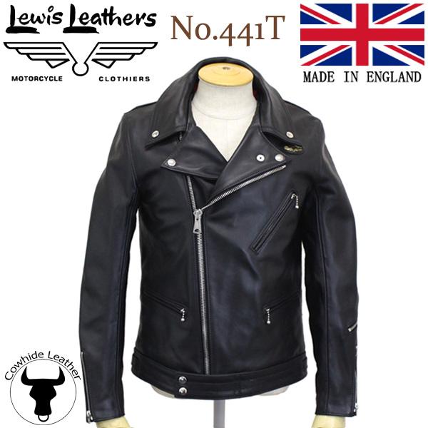 正規取扱店Lewis Leathers(ルイスレザーズ) No.441T CYCLONE TIGHT FIT(サイクロン タイトフィット) ブラック