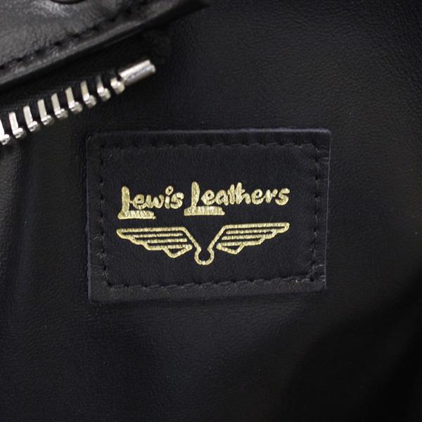 正規取扱店 Lewis Leathers (ルイスレザー) No.391 LIGHTNING REGULAR FIT HORSEHIDE (ライトニング レギュラーフィット ホースハイド) ブラックレザー