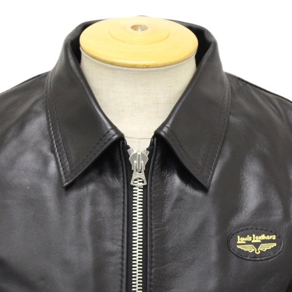 正規取扱店 Lewis Leathers (ルイスレザー) No.59/60 CORSAIR REGULAR FIT HORSEHIDE (コルセア レギュラーフィット ホースハイド) ブラックレザー
